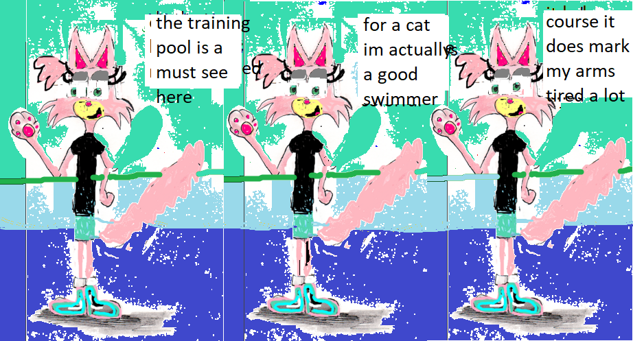 training pool comic